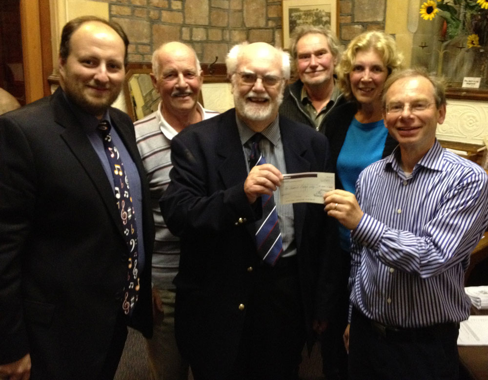 Emmanuel Church donates £1,000 to the SPACE Ilfracombe for new heating