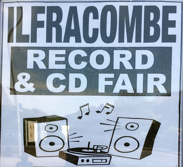 Ilfracombe Record & CD Fair | The SPACE